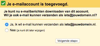 Gmail stap 4
