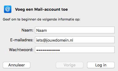 Mac stap 3
