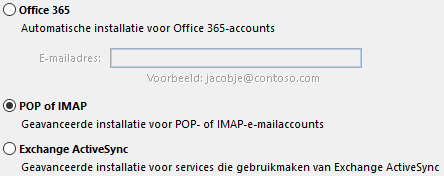 Stap 6 outlook