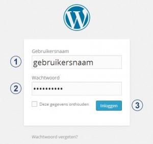 wf wordpress inloggen