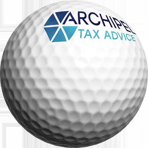 Archipel Tax Advice golfbal midden