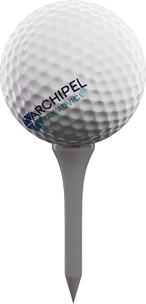 Archipel Tax Advice golfbal onder