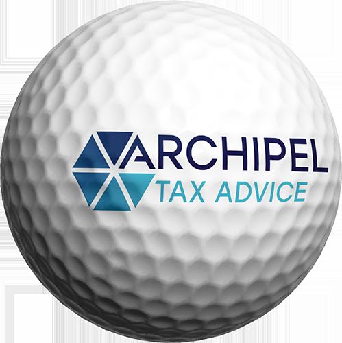 Archipel Tax Advice golfbal top